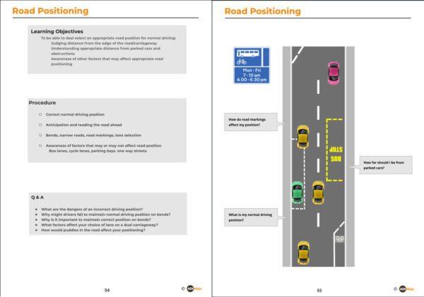 Sample diagrams - postioning